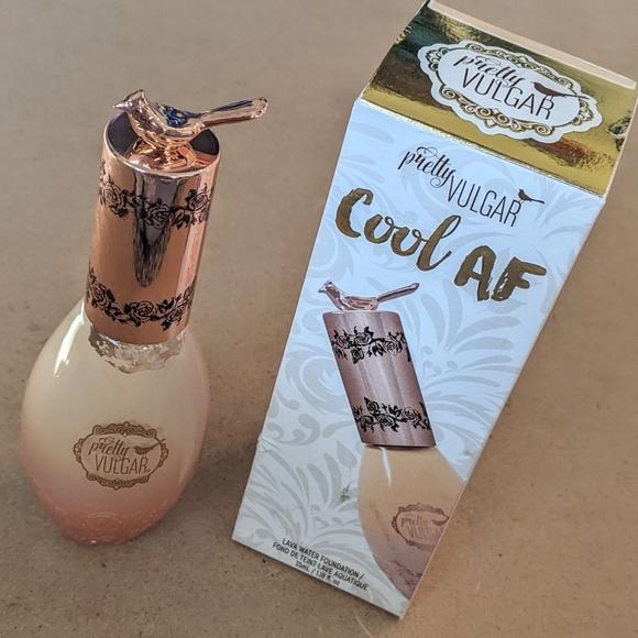 Pretty Vulgar | Cool AF: Lava Water Foundation Fond de